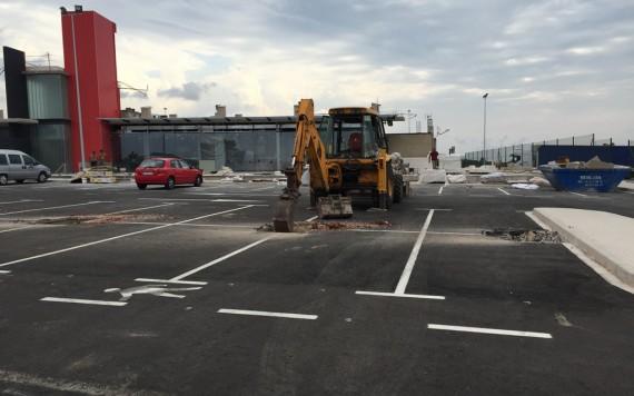 Proyecto trabajos de Construcción Gasolinera en El Puig
