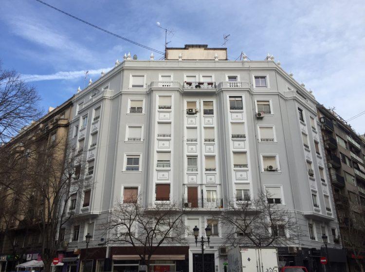 Rehabilitacion de edificios en Valencia. Puntal Tecnico
