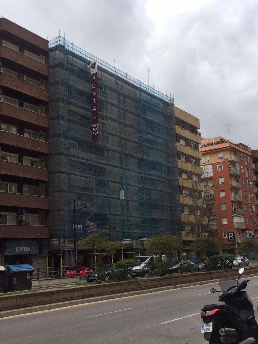 Reforma Rehabilitación de edificios Valencia Puntal tecnicoviviendas