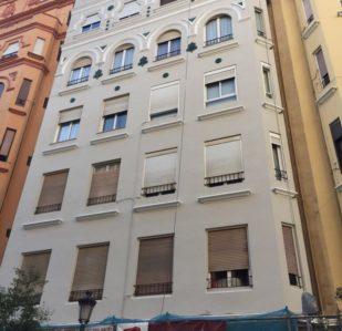 Rehabilitación de edificios en Valencia Puntal Tecnico