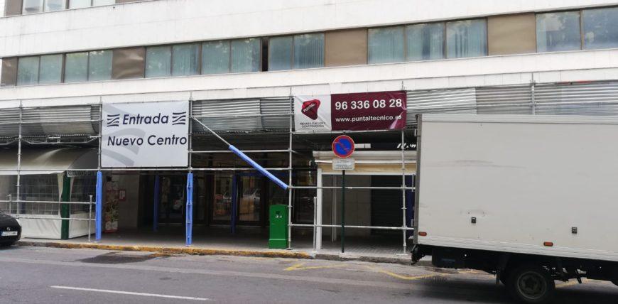 Restauración fachadas Puntal Tecnico Valencia