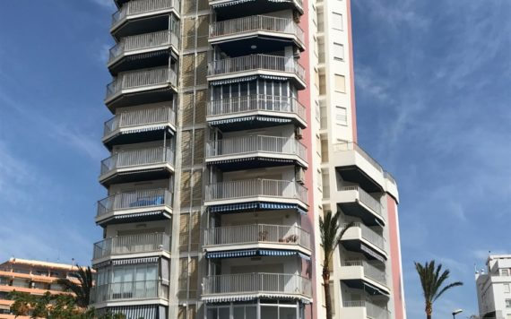 Rehabilitacion fachadas apartamento de playa Puntal tecnico Valencia