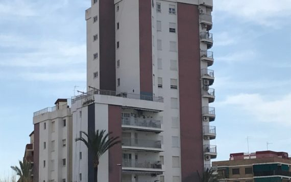 Rehabilitación Fachadas edificio Puntal Tecnico Valencia