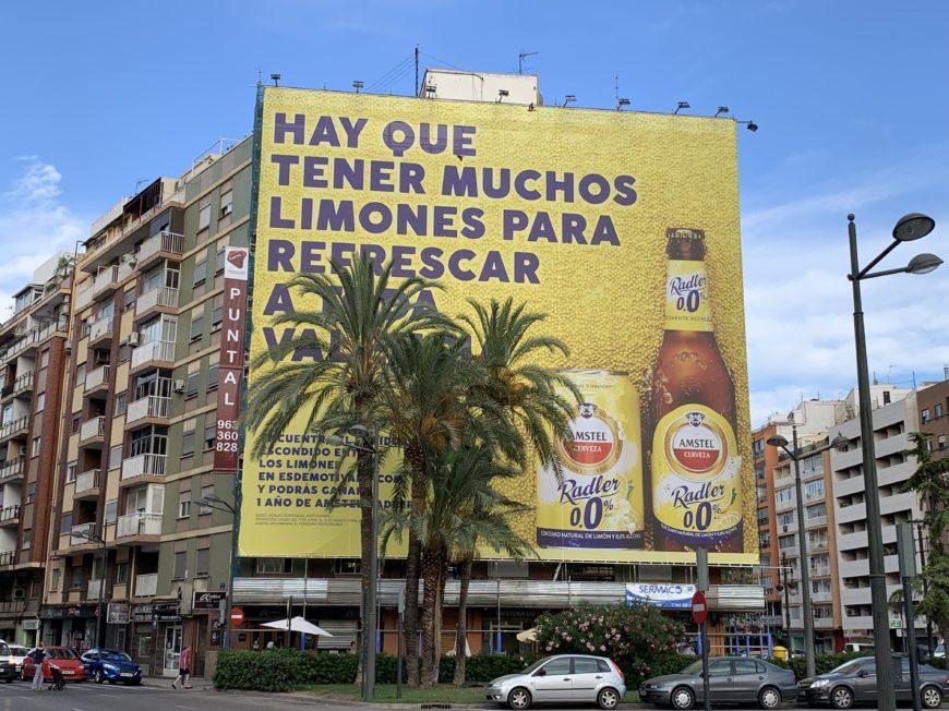 Publicidad fachada rehabilitación de edificios Valencia