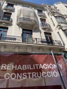 rehabilitación edificio Grabador esteve, 12 puntal tecnico construccion valencia