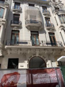 restauracion fachada edificio Grabador esteve, 12 puntal tecnico valencia