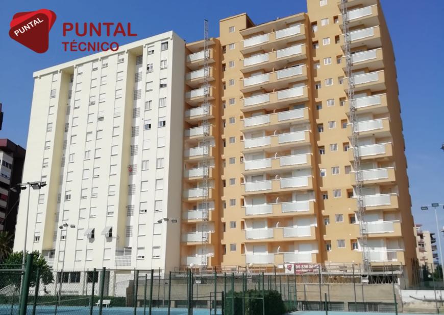 Finalización rehabilitacion Edificio Apartamentos de Playa Copacabana Mareny Blau Valencia