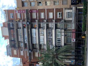Restauracion edificio GV. Germanias 15 Valencia _Obra