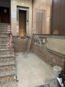 reforma bajada ascensor cota cero y leiminacion de barreras jose Groyo 60 Valencia 2