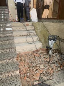 reforma bajada ascensor cota cero y leiminacion de barreras jose Groyo 60 Valencia 3