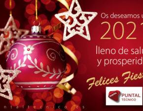 PUNTAL TECNICO te desea Feliz Navidad y Prospero 2021