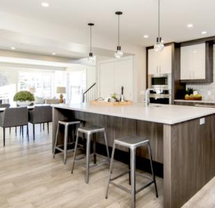 reforma vivienda cocina integrada en el salon 4