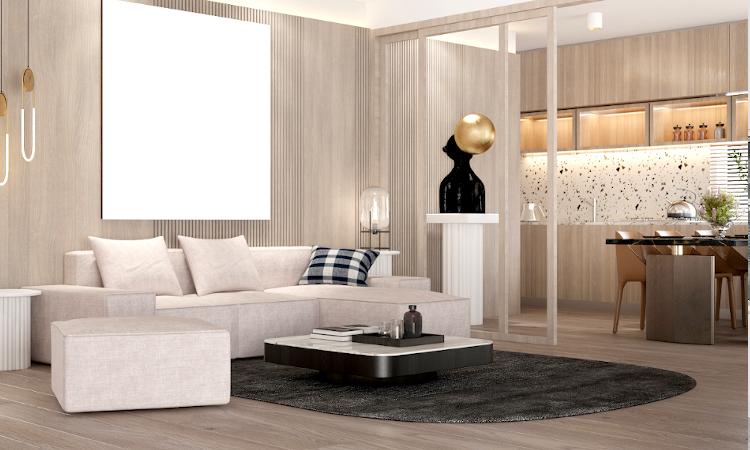reforma vivienda cocina integrada en el salon 5