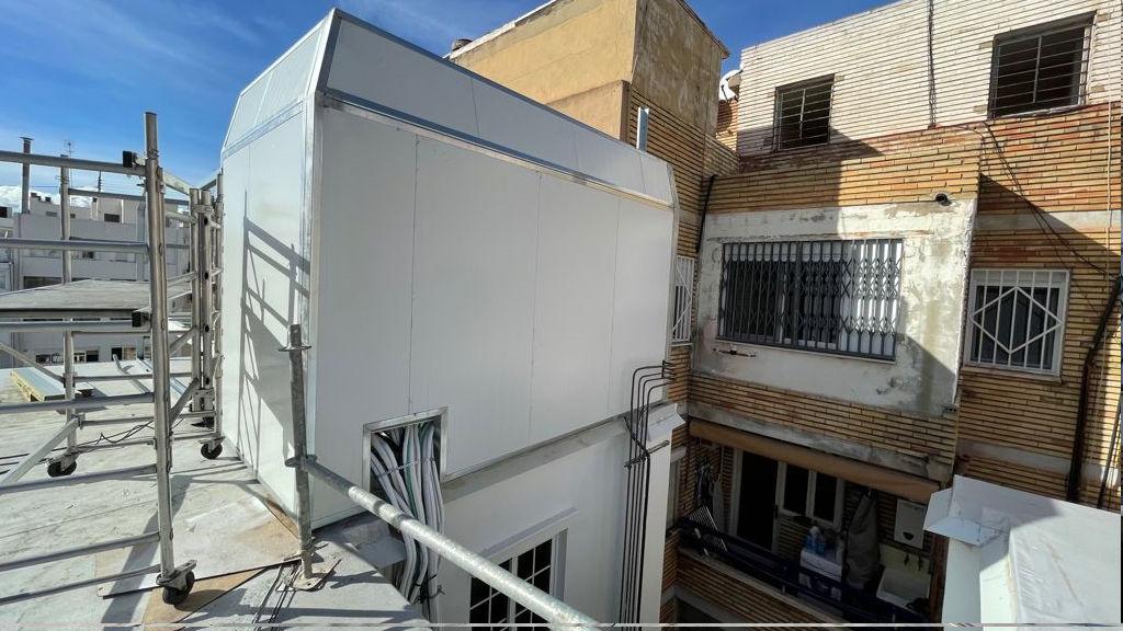 aire acondicionado aislacion acustica y contra vibraciones rehabilitacion edificios puntal tecnico valencia