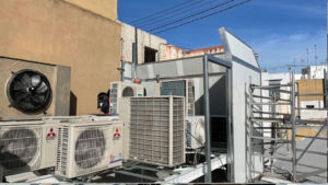 aislacion acustica y contra vibracionesaire acondicionado rehabilitacion de edificios puntal tecnico valencia