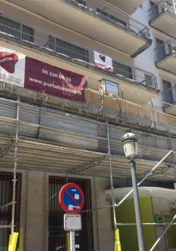 proyecto mantenimiento Restauración de balcones en la Residencia de Estudiantes La Concepcion Valencia