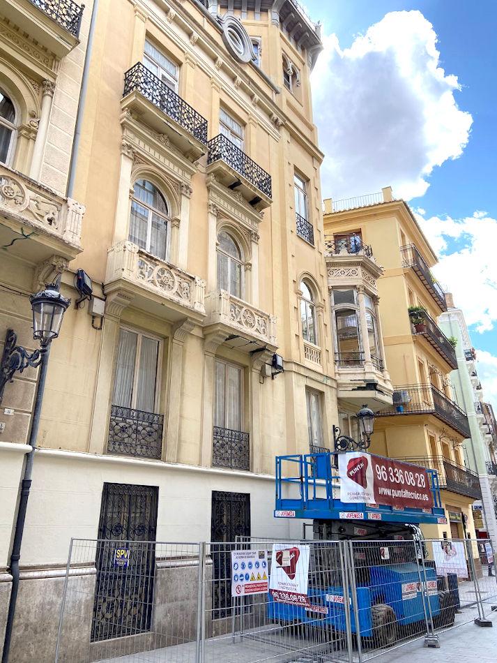 rehabilitacion edificio palacio castellfort presidencia valencia puntal tecnico 2