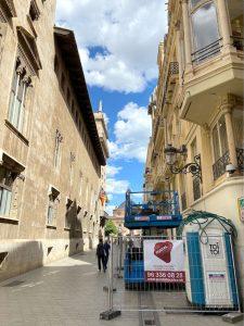 rehabilitacion edificio palacio castellfort presidencia valencia puntal tecnico 3