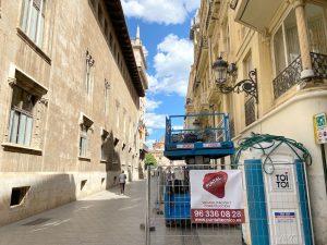 rehabilitacion edificio palacio castellfort presidencia valencia puntal tecnico 5
