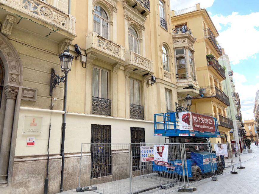 rehabilitacion edificio palacio castellfort presidencia valencia puntal tecnico 6