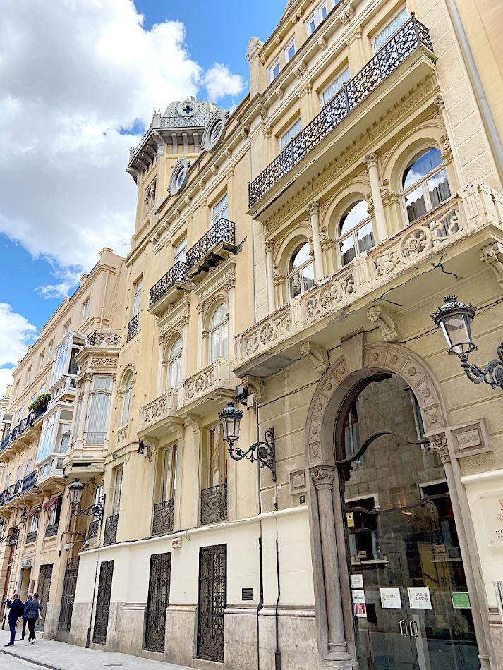 rehabilitacion edificio palacio castellfort presidencia valencia puntal tecnico