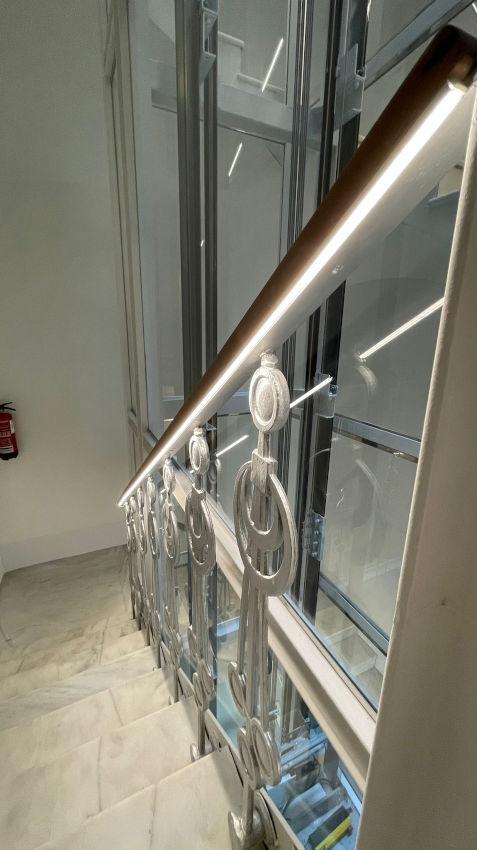 finalizada obra ascensor panoramico grabador esteve 12 valencia 2