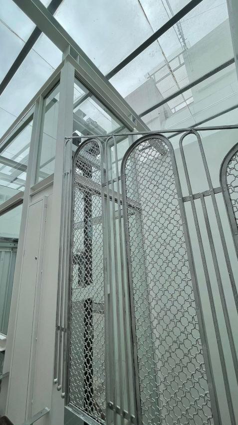 finalizada obra ascensor panoramico grabador esteve 12 valencia 5