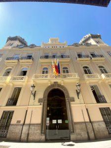 rehabilitacion edificio restauracion fachada presidencia generalitat valenciana