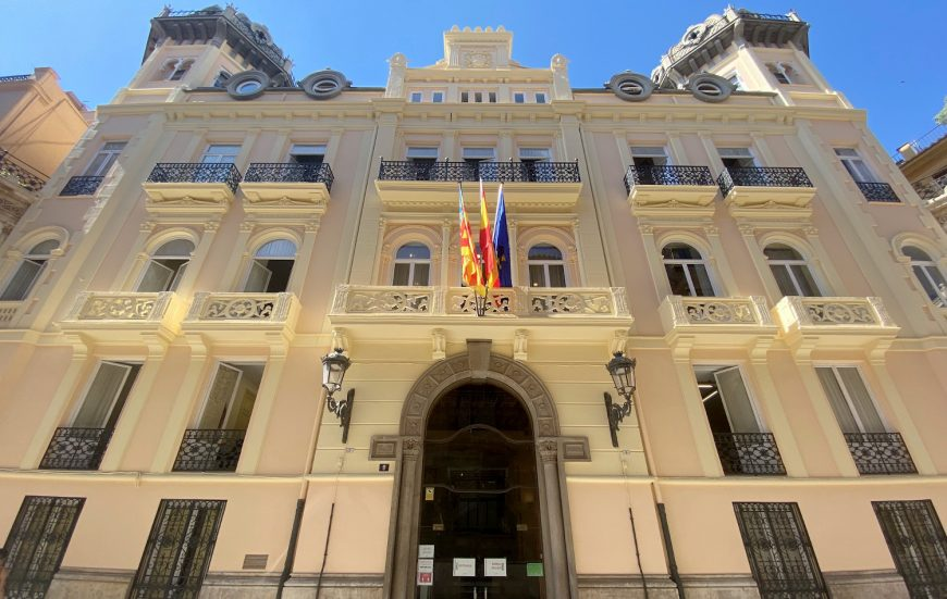 rehabilitacion edificio restauracion fachada presidencia generalitat valenciana fachada principal